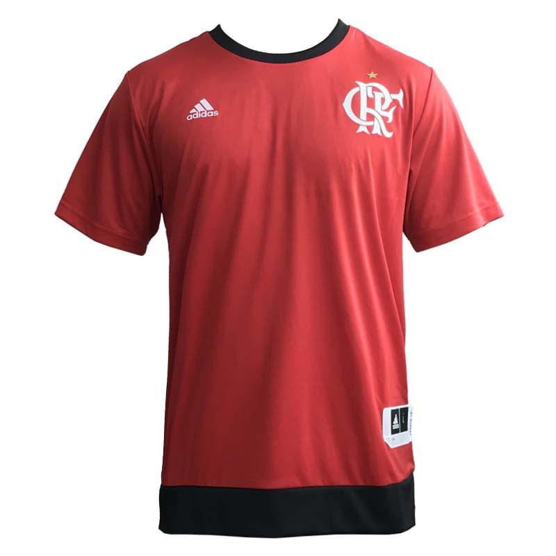 bfcb51bb80 Camisa Flamengo Basquete Shooter 17 18 - EspacoRubroNegro