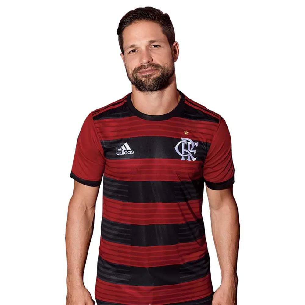 d5f8942b49022 Camisa Flamengo Jogo 1 Torcedor Adidas 2018 - EspacoRubroNegro