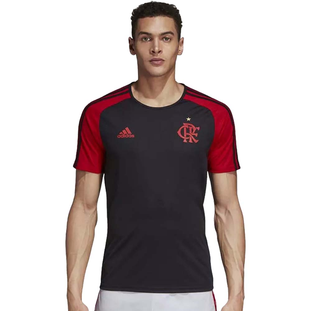 Camisa Flamengo 1 Fan Adidas 2018 - EspacoRubroNegro f4aacb974c6a5
