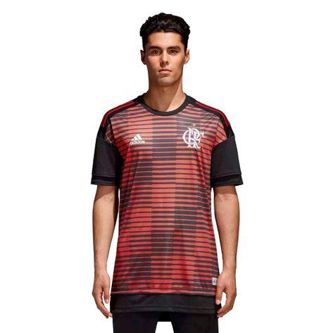 Camisa-Flamengo-Pre-Jogo-Adidas-2018