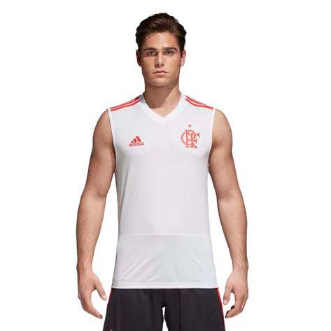 Regata-Flamengo-Treino-Adidas-2018-Branca