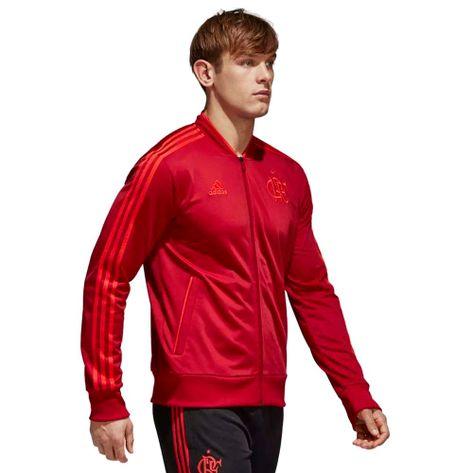 Jaqueta-Flamengo-Pes-Adidas-2018-Vermelha