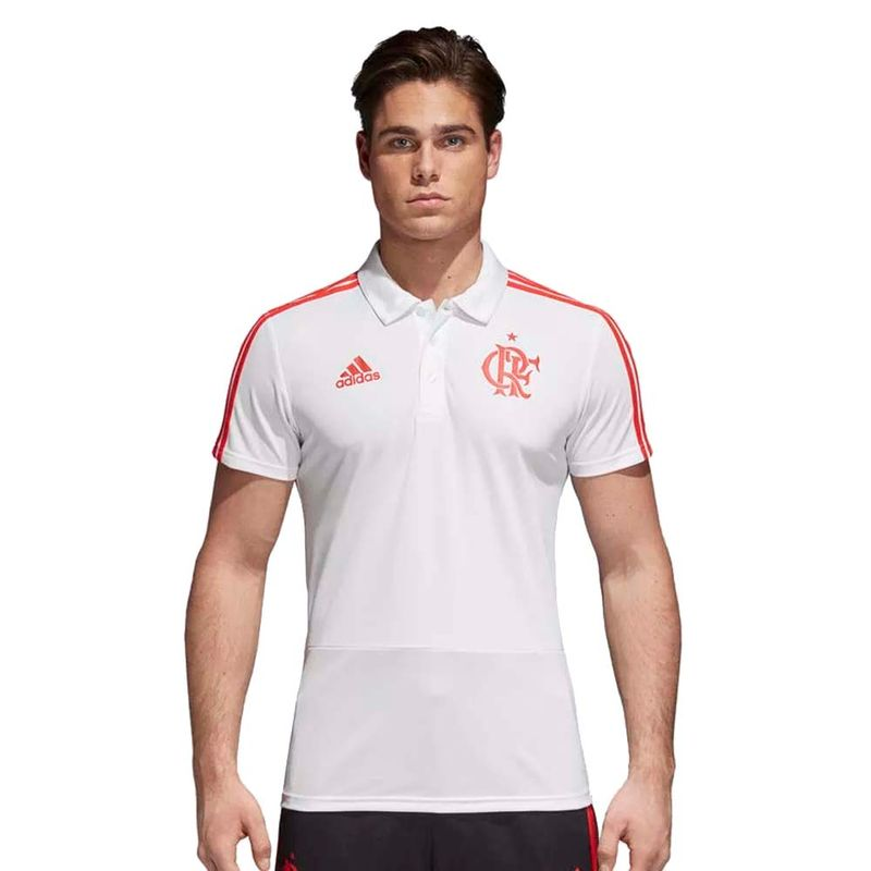 Espaço Rubro Negro  Linha Adidas - Camisa Polo do Flamengo 9ec69c424e2e7