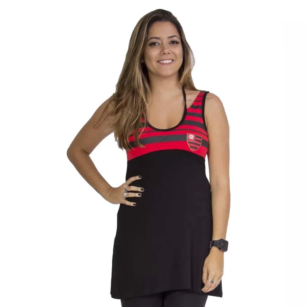 d15a48961f Espaço Rubro Negro  Vestido Flamengo Bust Braziline - EspacoRubroNegro