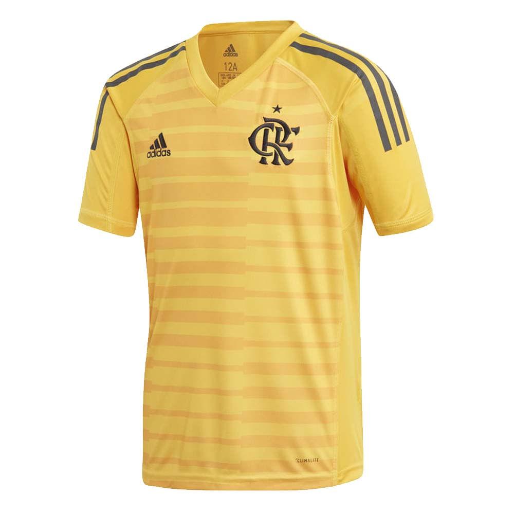 0fb159c4ce Camisa Flamengo Infantil Goleiro 1 Adidas 2018 - EspacoRubroNegro