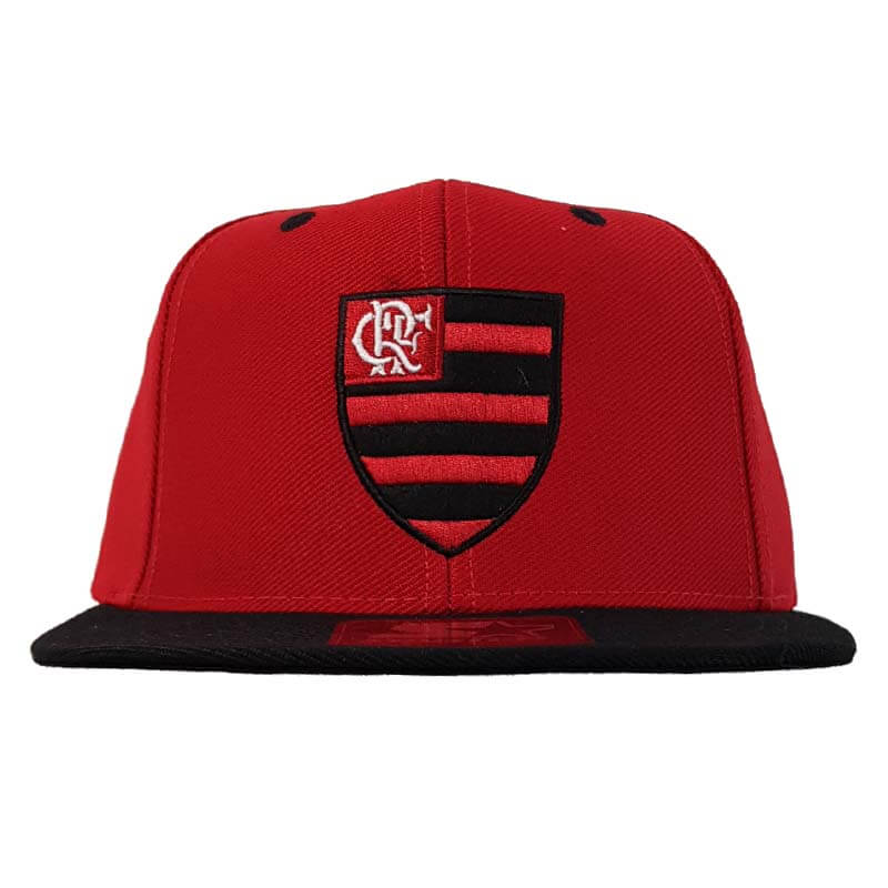 Boné Flamengo 6G Logo Oficial Starter - EspacoRubroNegro 0a37c1db387