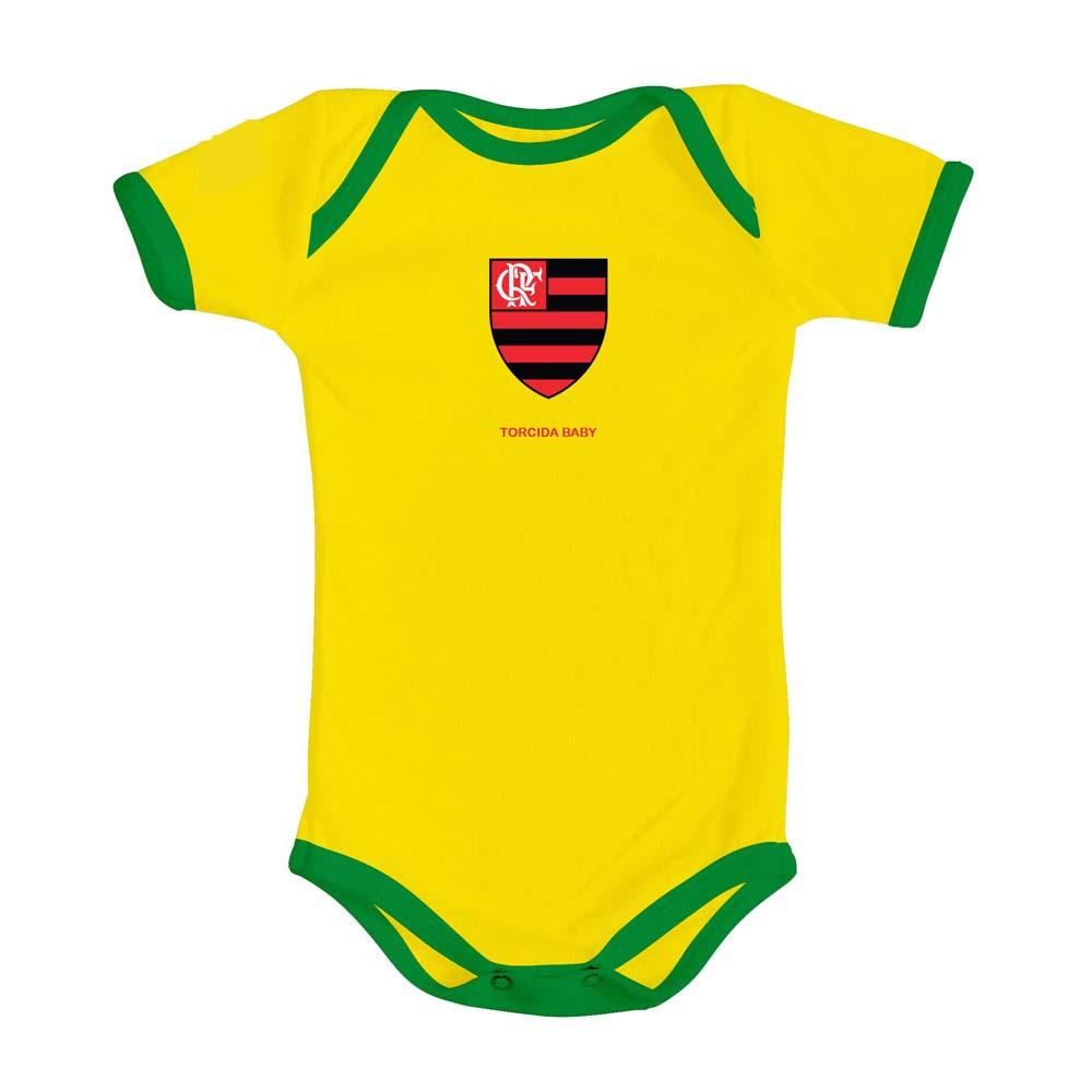 Body Flamengo Brasil Times Torcida Baby - EspacoRubroNegro 0fceaf858bb81