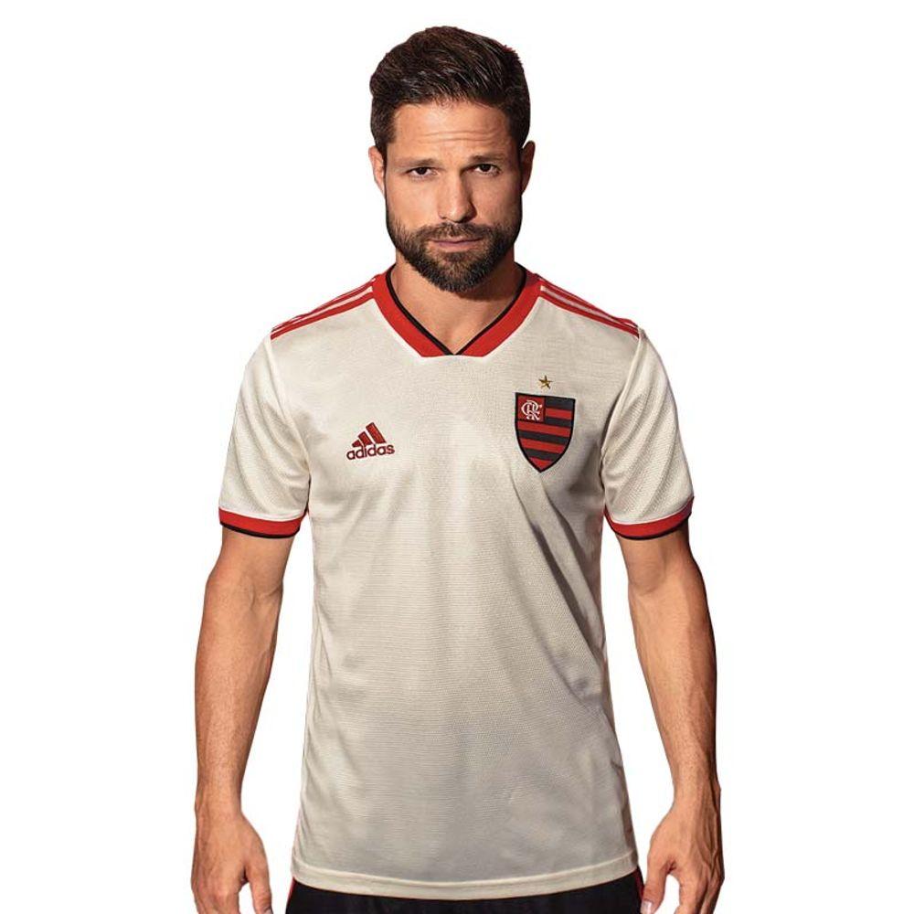 c4aa1c55ed6 Camisa Flamengo Jogo 2 Adidas 2018 - EspacoRubroNegro