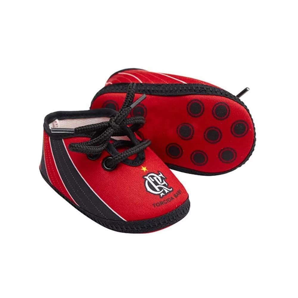 3b7d125562 Chuteira Flamengo Bebê Torcida Baby - EspacoRubroNegro
