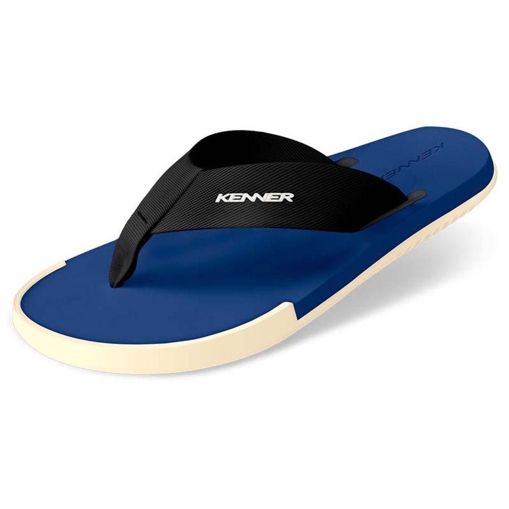 80bc37cc2 Sandália Kenner Kick-S Colors Azul   Branca - WQSurf