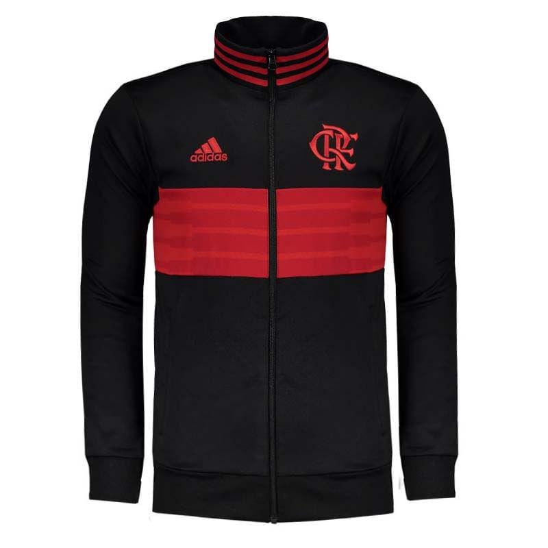 Jaqueta Flamengo 3S Adidas 2018 - EspacoRubroNegro 0adabb9b731b7