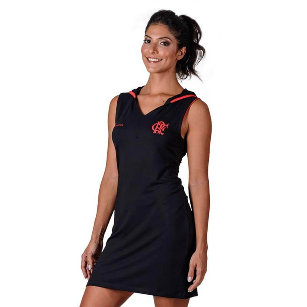 86ade4677 Vestido Flamengo Point Braziline - EspacoRubroNegro