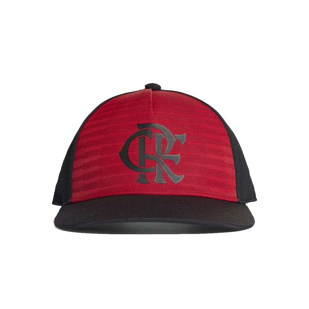Boné Flamengo Aba Curva Adidas 2018 - EspacoRubroNegro cb4cb2a24af