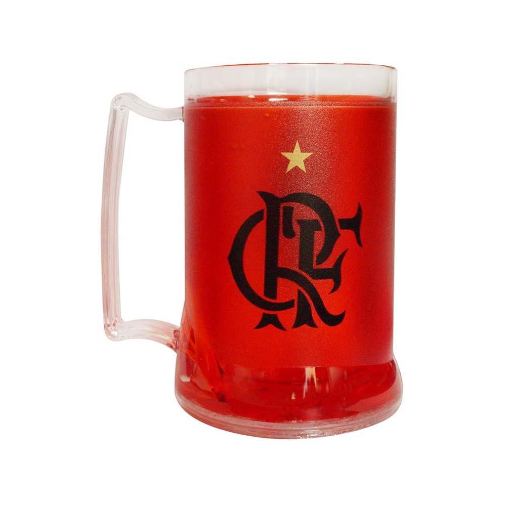 a8d0fdde8e Caneca Gel Flamengo A Maior Torcida 400 ML Vermelha - EspacoRubroNegro