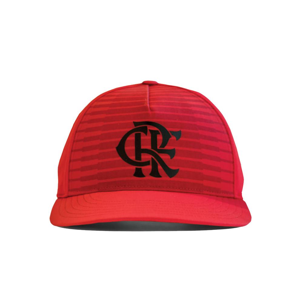 Boné Flamengo Aba Reta Adidas 2018 - EspacoRubroNegro 750024f992a
