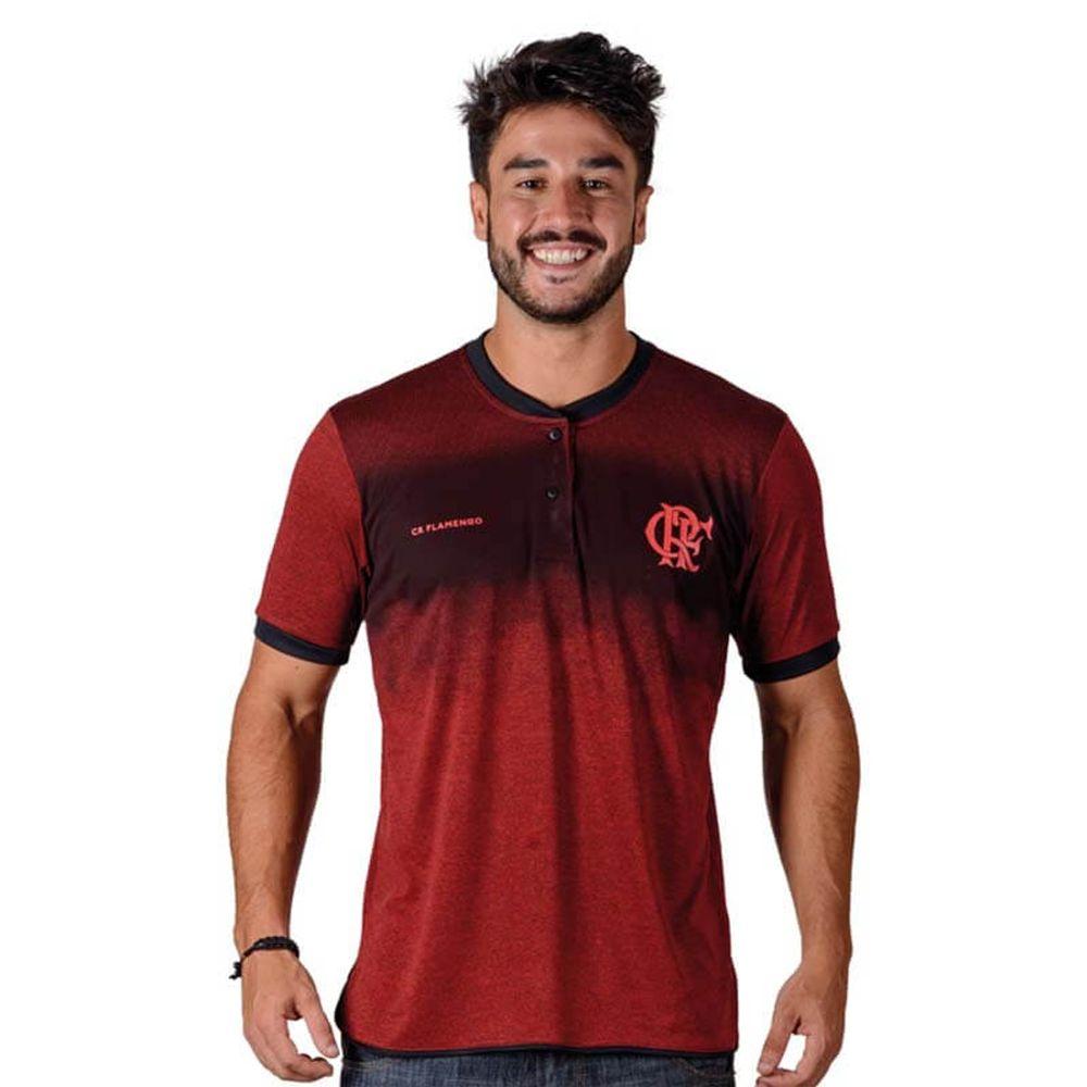 2c1ad73a51a2d Camisa Flamengo Polo Gang Braziline - EspacoRubroNegro