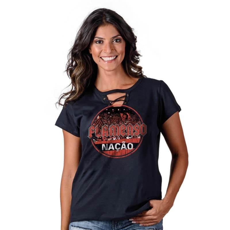 7d61ba3e3d Espaço Rubro Negro  Camisas e Regatas Femininas do Flamengo