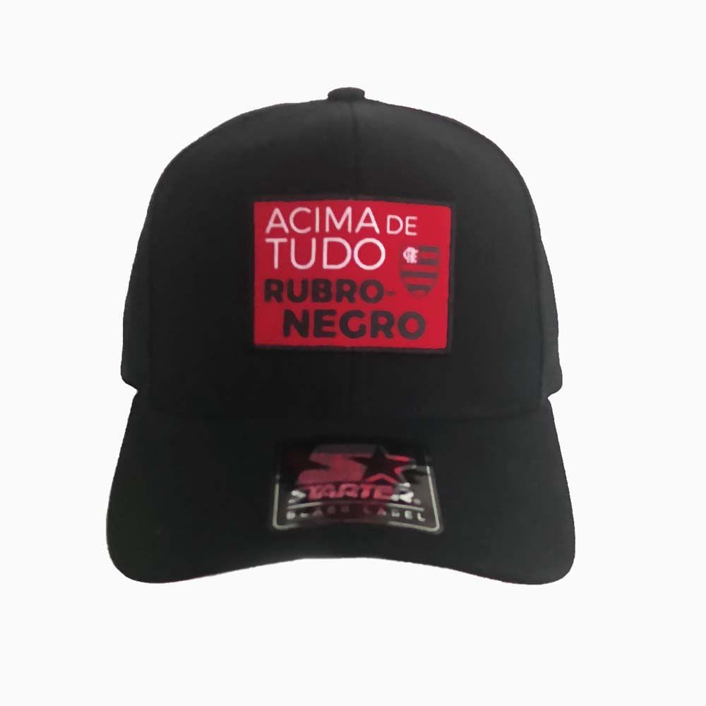 Boné Flamengo Acima de Tudo Rubro Negro Starter - EspacoRubroNegro 2ce254e63bc