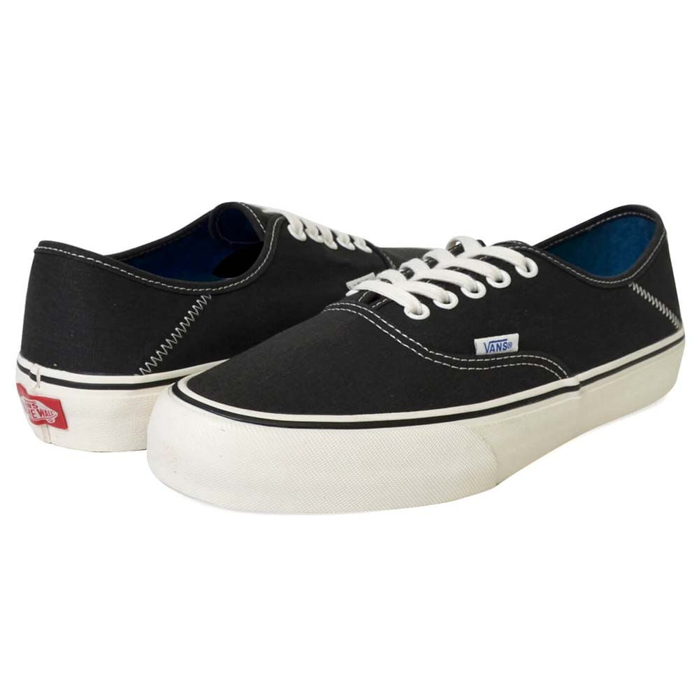Tênis Vans Authentic SF Salt Wash Black   Marshmallow VN0A3MU6U6P - WQSurf d9d59ade0d438