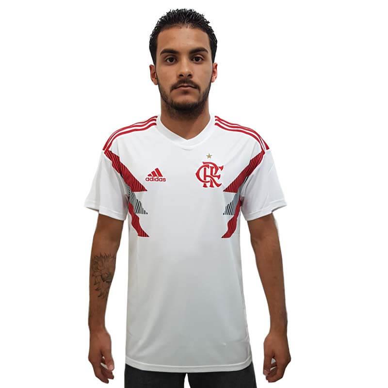 camisa-flamengo-pre-jogo2018. Camisa Flamengo 1 Pré-Jogo Adidas 2018 ... 75f2c147737fa