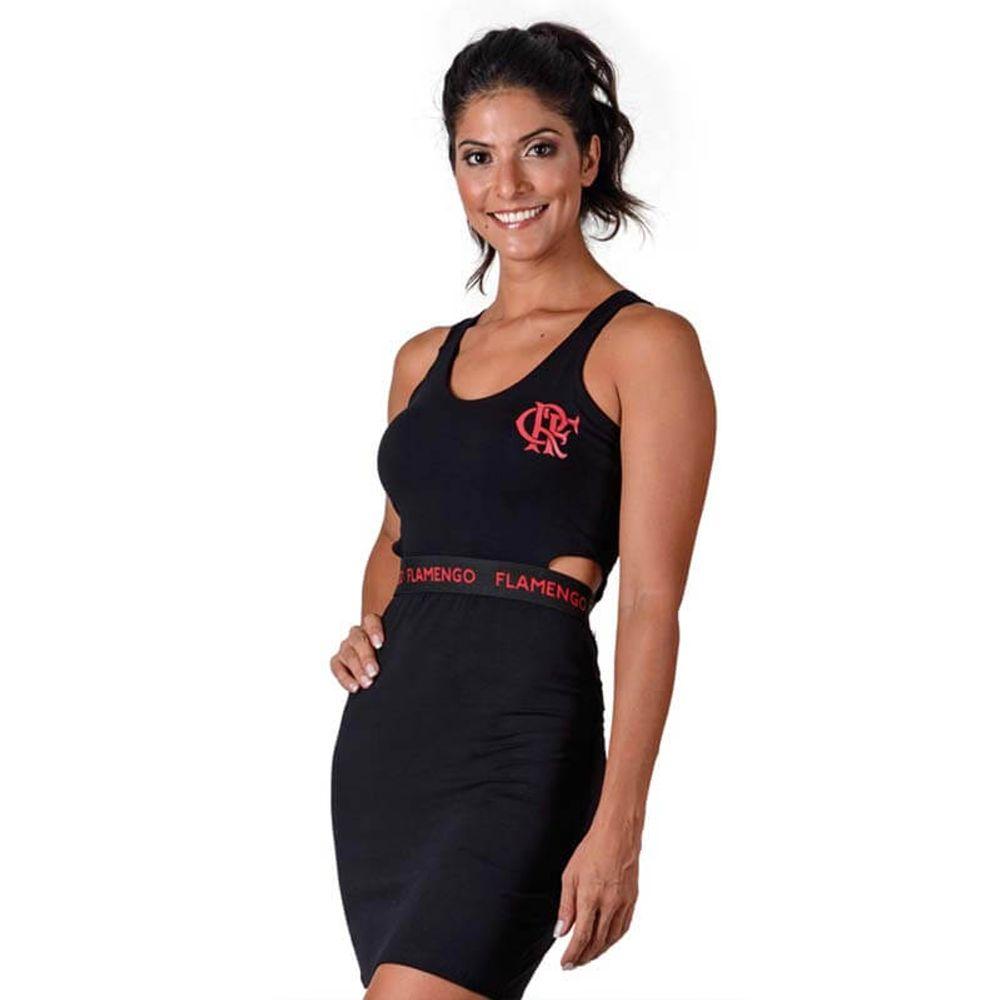 48a5e7465a Vestido Flamengo Secret Braziline - EspacoRubroNegro