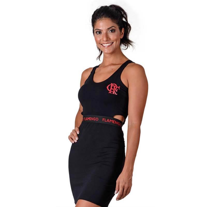 59701a6a65593 Espaço Rubro Negro  vestidos femininos do Flamengo