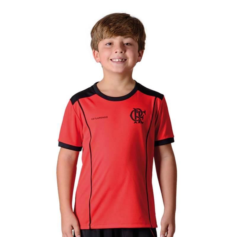 Camisa Flamengo Infantil Slide Braziline