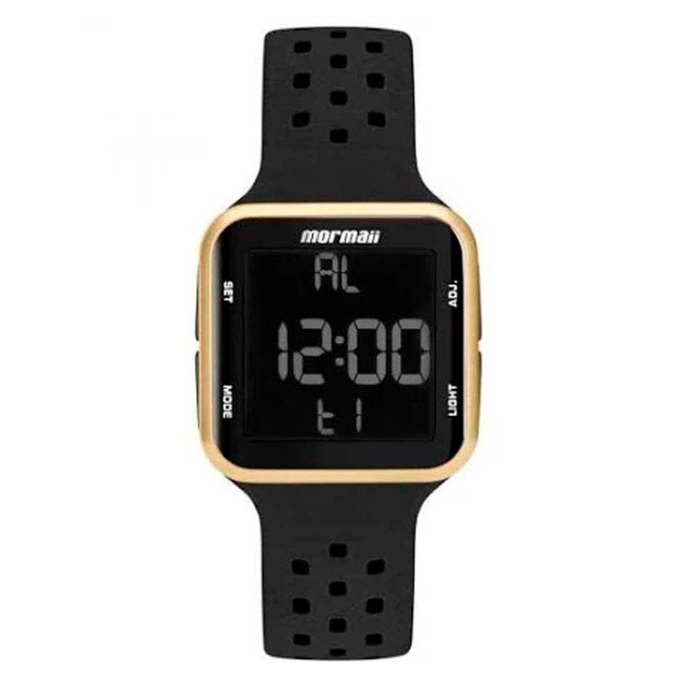 fdec3edd23c16 Relógio Mormaii Wave MO6600 8D Preto   Dourado - WQSurf