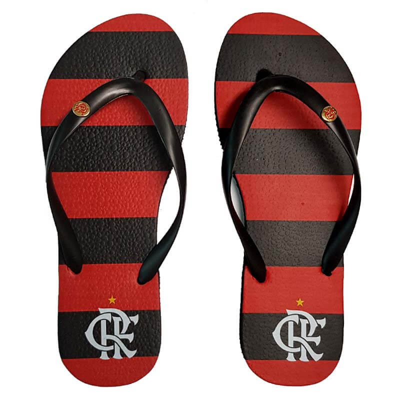 Espaço Rubro Negro  chinelos do Flamengo f24a53d4e3a68