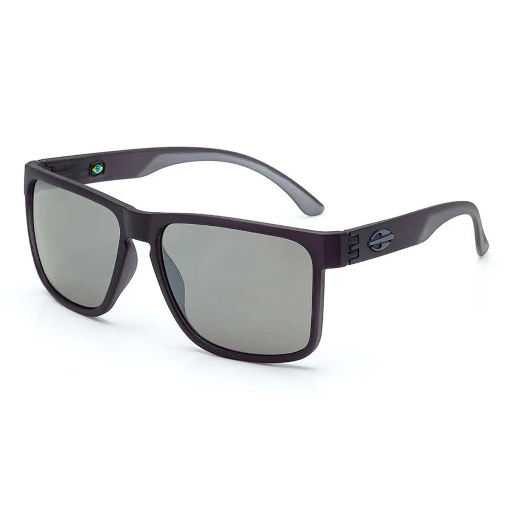 7de2d76033976 Óculos Mormaii Monterey Fumê Fosco Lente Cinza Espelhada M0029D7709 - WQSurf