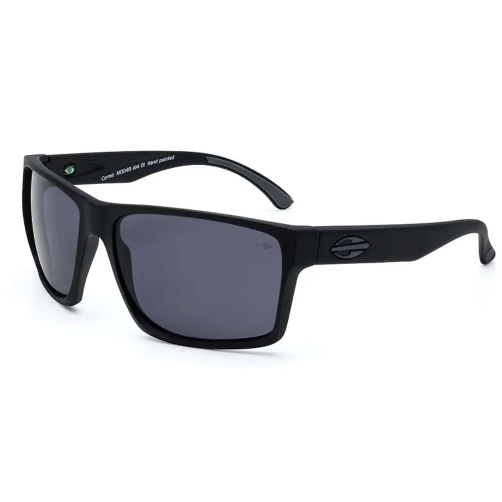Óculos Mormaii Carmel Preto Fosco Lente Cinza M0049A1401 - WQSurf 8a671a7e6f
