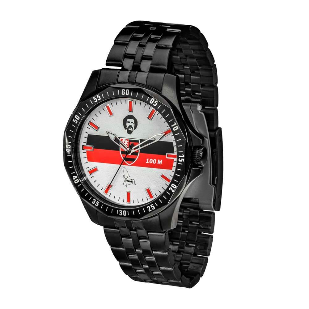 58a2be860c4 Relógio Flamengo Maestro Júnior Preto - EspacoRubroNegro
