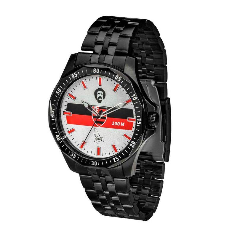 241569f531a Relógio Flamengo Maestro Júnior Preto - EspacoRubroNegro