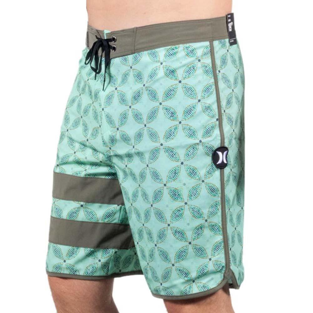 97ca1acab8901 Bermuda Hurley Phanton Drum Circle Verde + Camisa Phantom - WQSurf