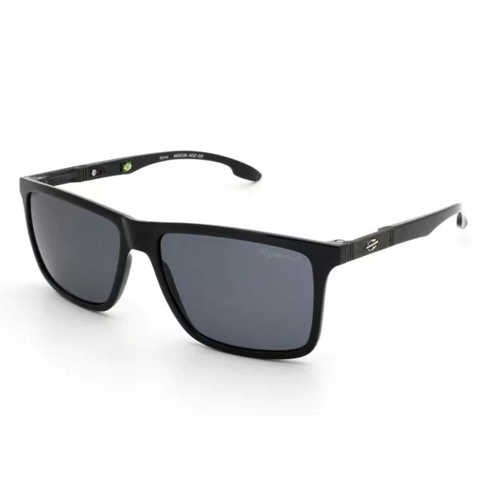 2381372b0 Óculos Mormaii Kona Preto Brilho/Lente Cinza Polarizada M0036A0203 ...