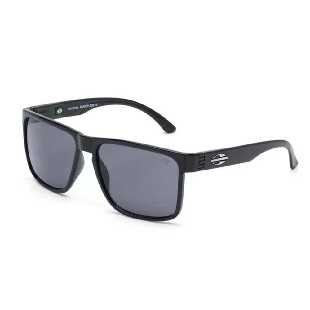 Óculos Mormaii Monterey Preto Brilho Lente Cinza M0029A0201 - WQSurf fa674b841e