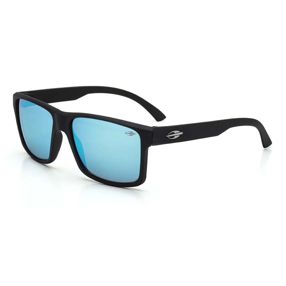 93661b537 Óculos Mormaii Lagos Preto Fosco/Lente Revo Azul Ice M0074A1497 - WQSurf