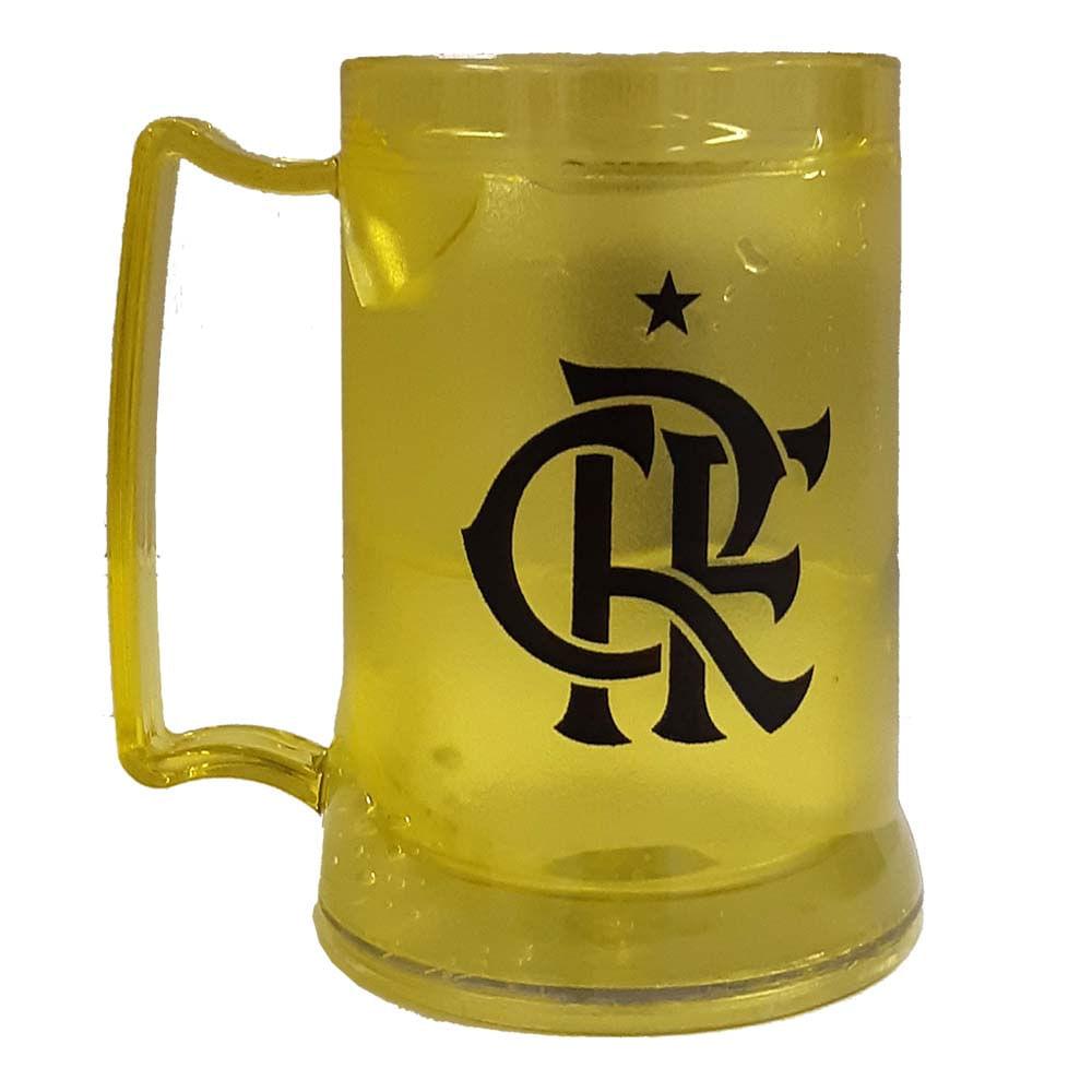 4d0fb292d6 Caneca Gel Flamengo CRF 400 ml Amarela - EspacoRubroNegro