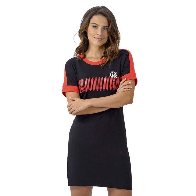 b7406a6c9 Espaço Rubro Negro  vestidos femininos do Flamengo