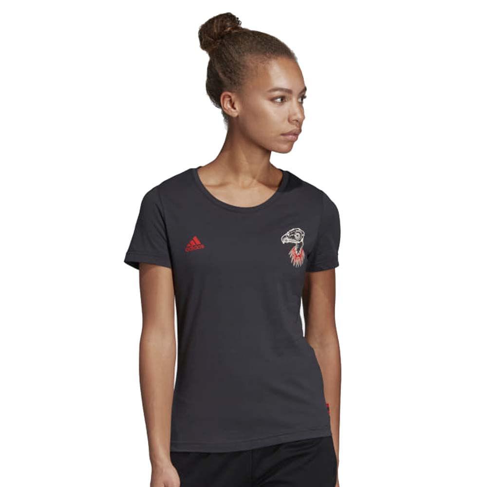 ee27c8f73f8 Camisa Flamengo Feminina Gráfica Adidas 2019 - EspacoRubroNegro