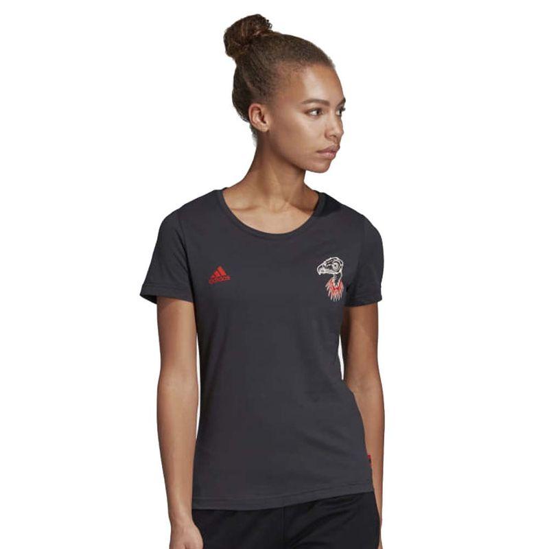88f6f7fabda Camisa Flamengo Feminina Gráfica Adidas 2019 - EspacoRubroNegro