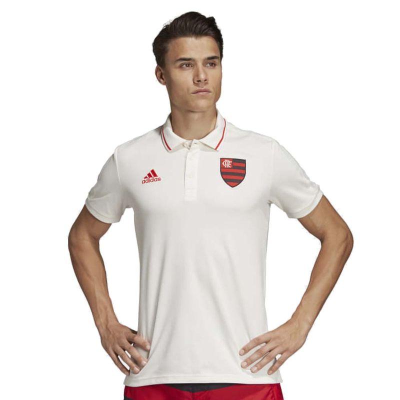 camisa-polo-flamengo-branca