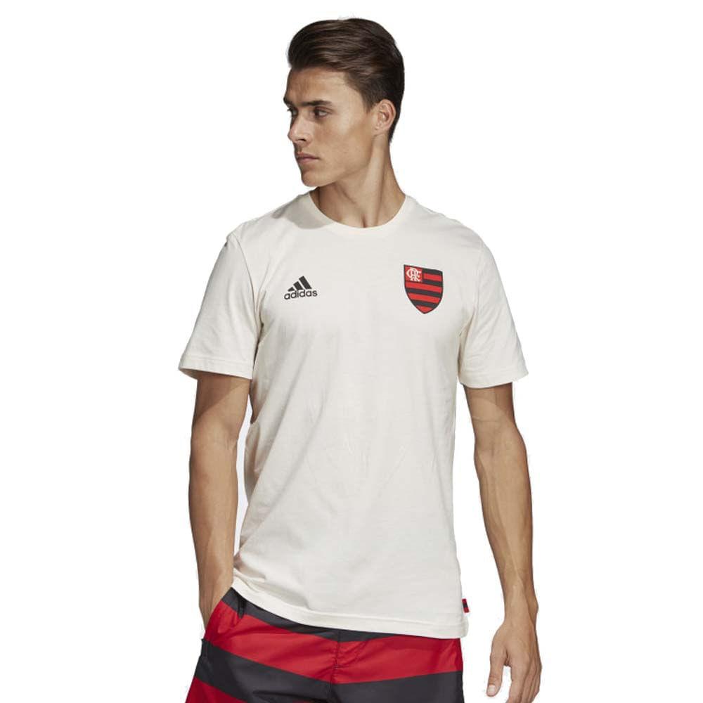 68e646a7669 Camisa Flamengo Gráfica Off White Adidas 2019 - EspacoRubroNegro