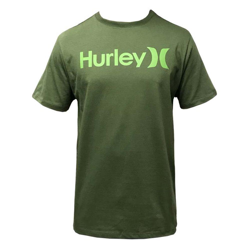 seleccione para oficial boutique de salida selección especial de Camiseta Hurley Silk OO Solid Verde Militar