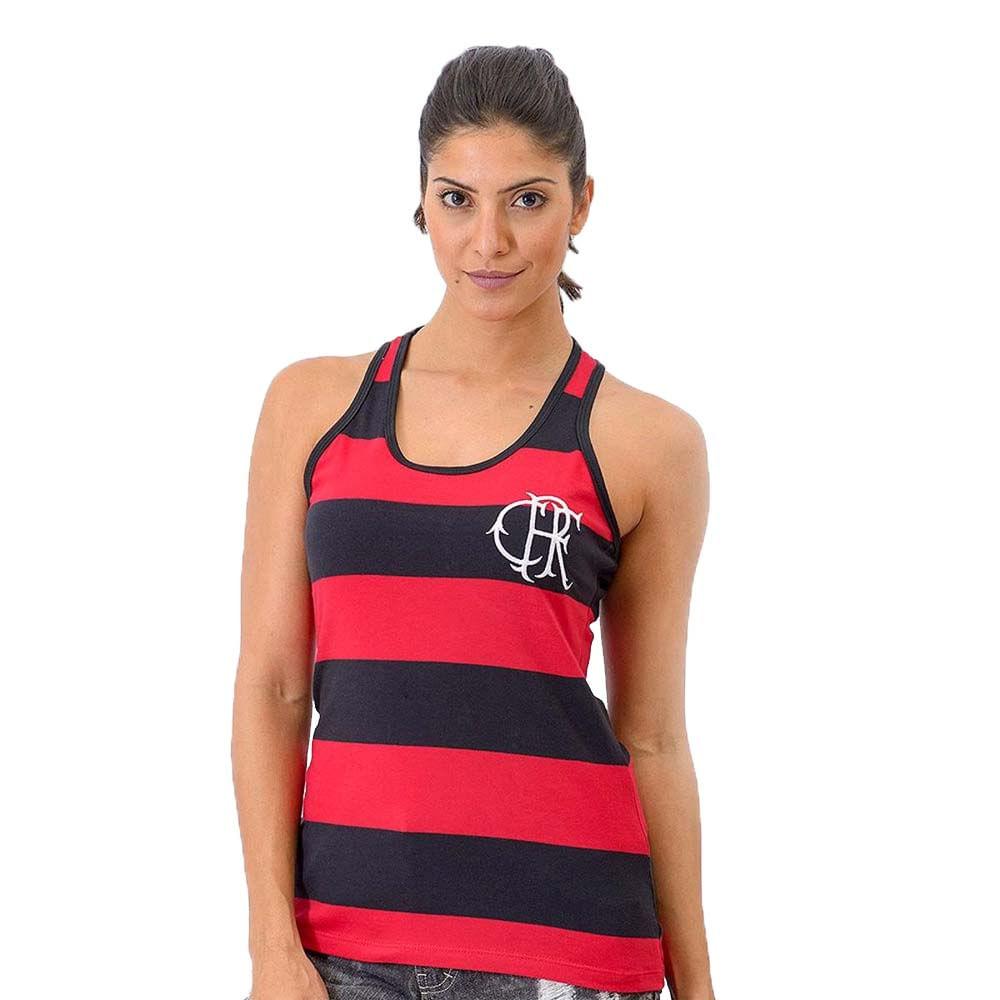 bc7885cc65 Regata Feminina Flamengo Nadador Tri - EspacoRubroNegro