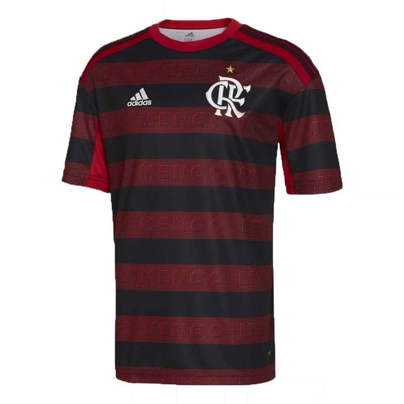 2e16d0d05c Camisa Flamengo Infantil Jogo 1 Adidas 2019 - EspacoRubroNegro