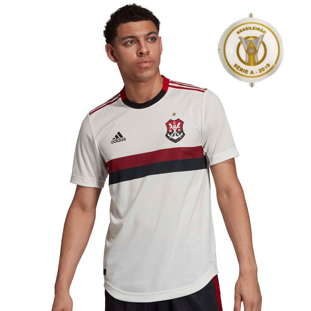 a18ca54dec Camisa Flamengo Jogo 2 Adidas 2019 - PATCH BRASILEIRÃO 19 - EspacoRubroNegro