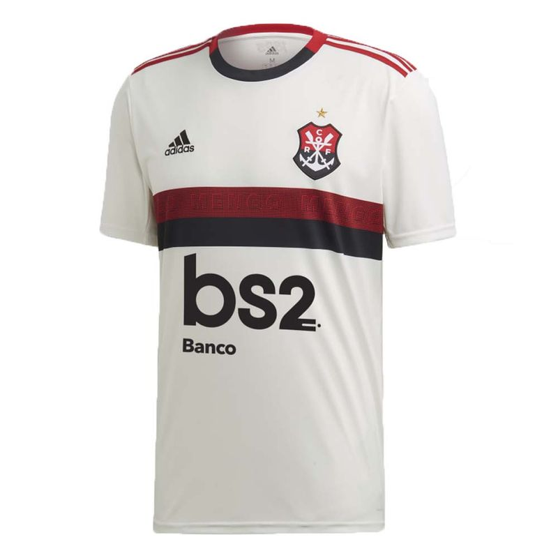 cc03bf159c Camisa Flamengo Jogo 2 Adidas 2019 - EspacoRubroNegro