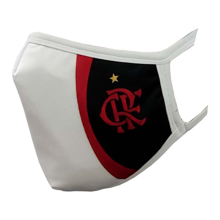 mascara-flamengo-new-white-rubro-negra