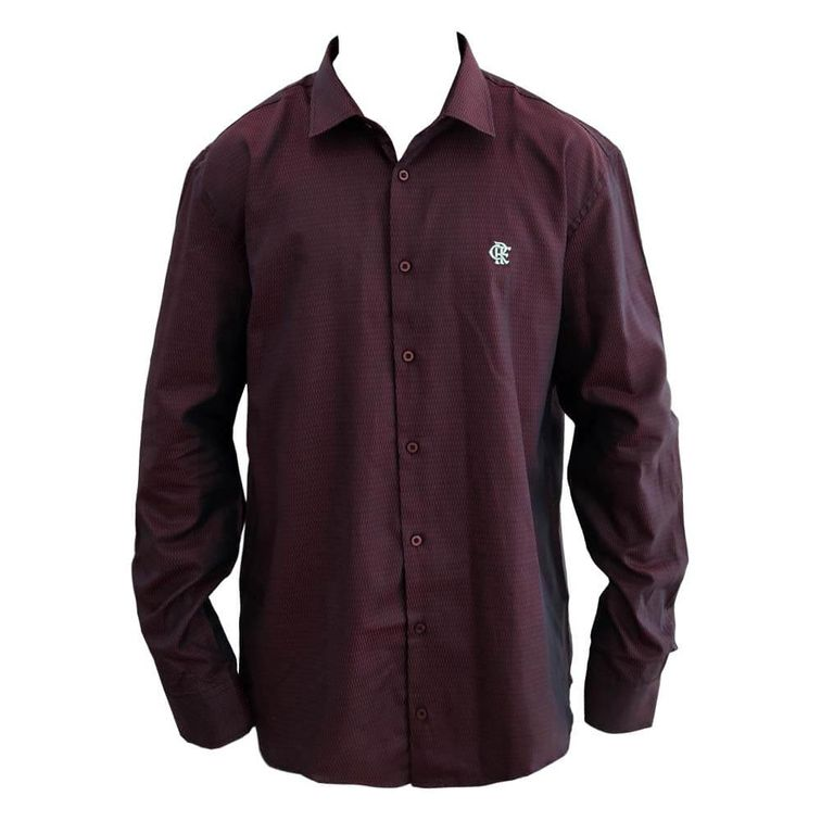 camisa-flamengo-manga-longa-vinho